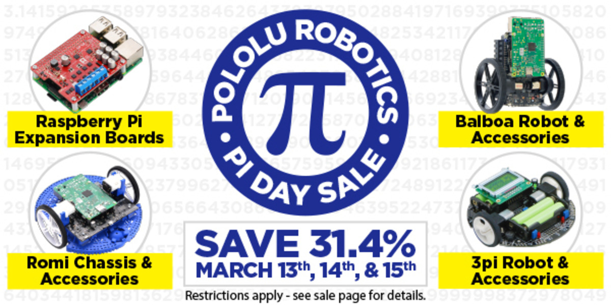 We're Having A Pi Day Sale, And It Starts Tonight
