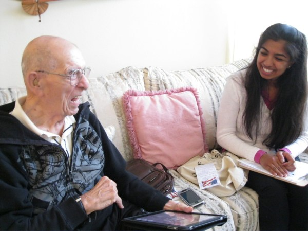 UC Irvine medical students team up with older people | 89 ...