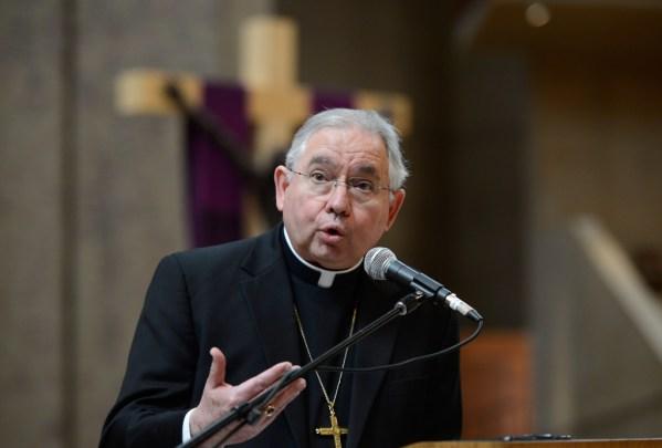 Image result for archbishop jose gomez