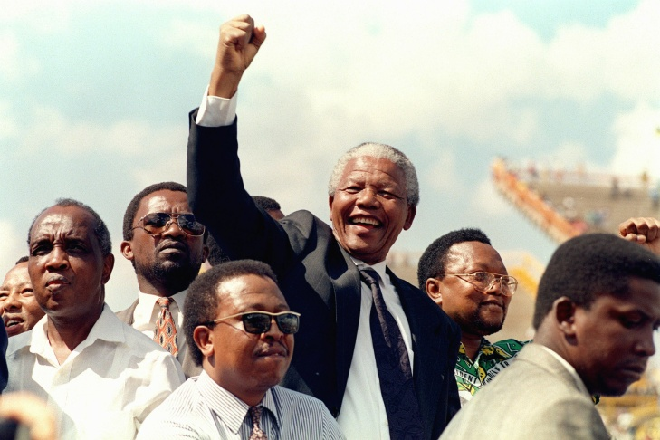 South African National Congress (ANC) President Nelson Mandela Died At 95