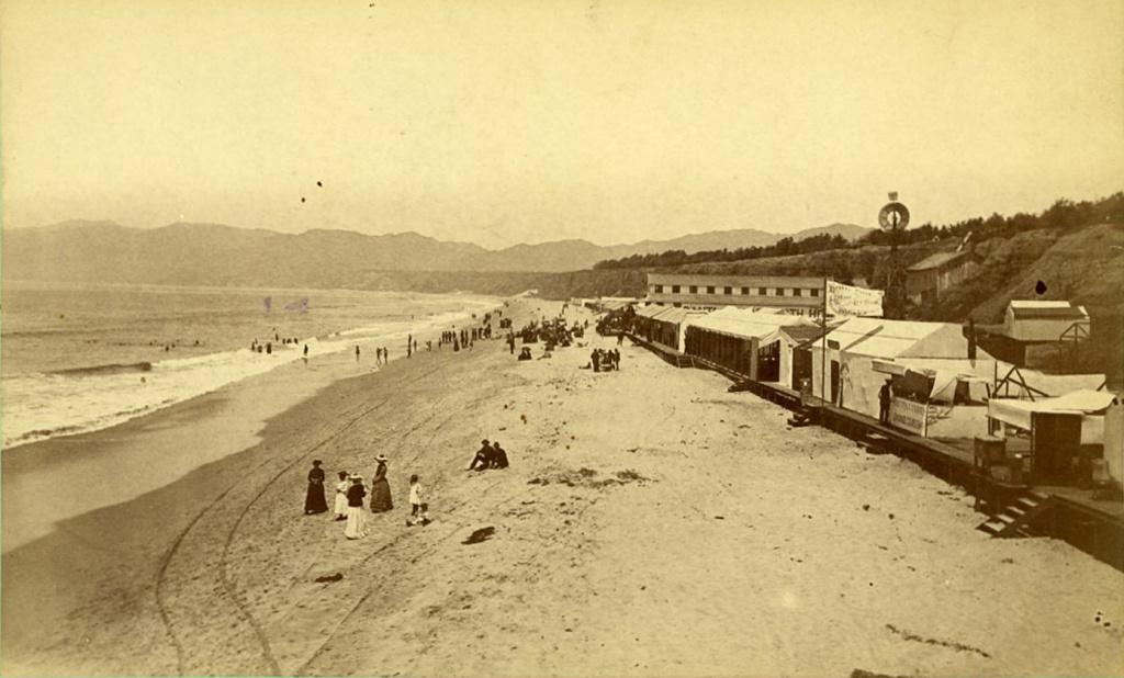 Slideshow Rarely Seen Photos Of 19th Century LA Santa