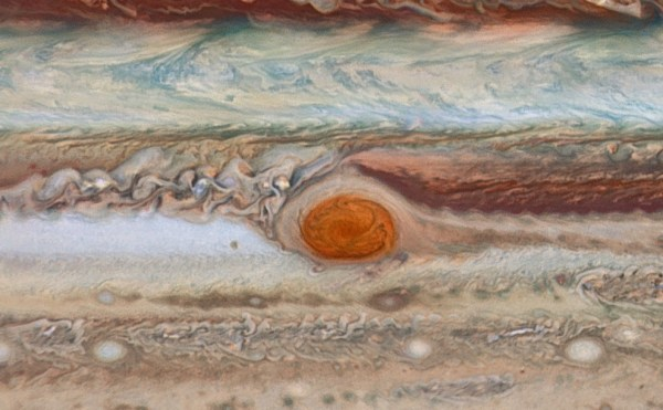New hubble images show Jupiter's great red spot is still ...