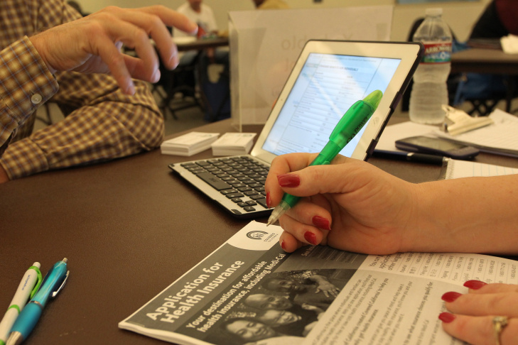 Affordable Care Act (ACA) Enrollment Fair Held In Southern California