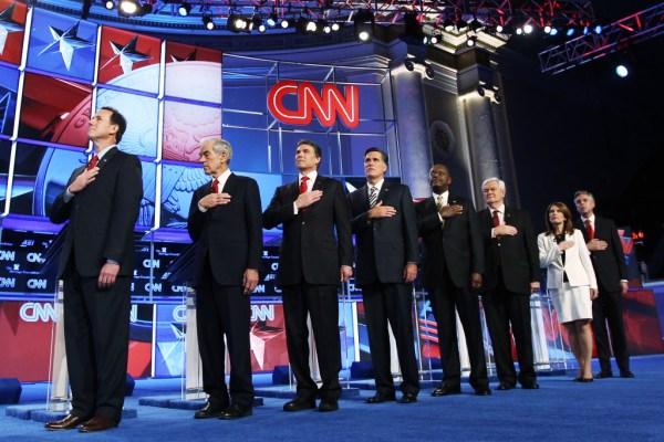 The Madeleine Brand Show | GOP debate: Gingrich takes heat ...