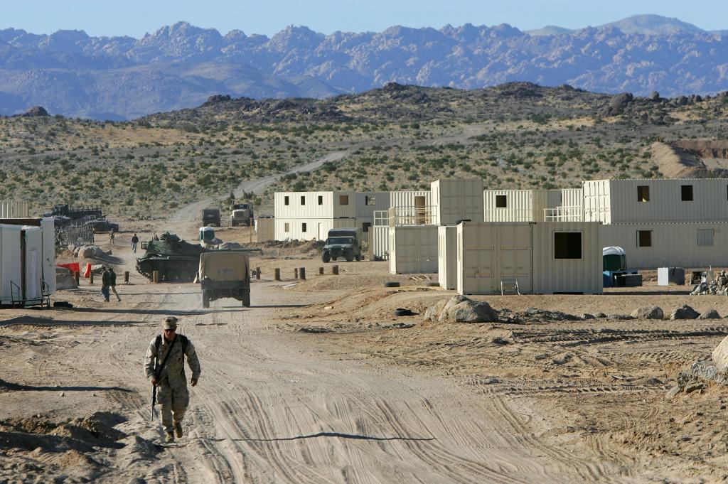 29 Palms California Military Base