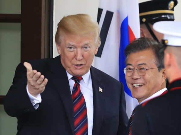 Trump calls off summit meeting with North Korean leader ...