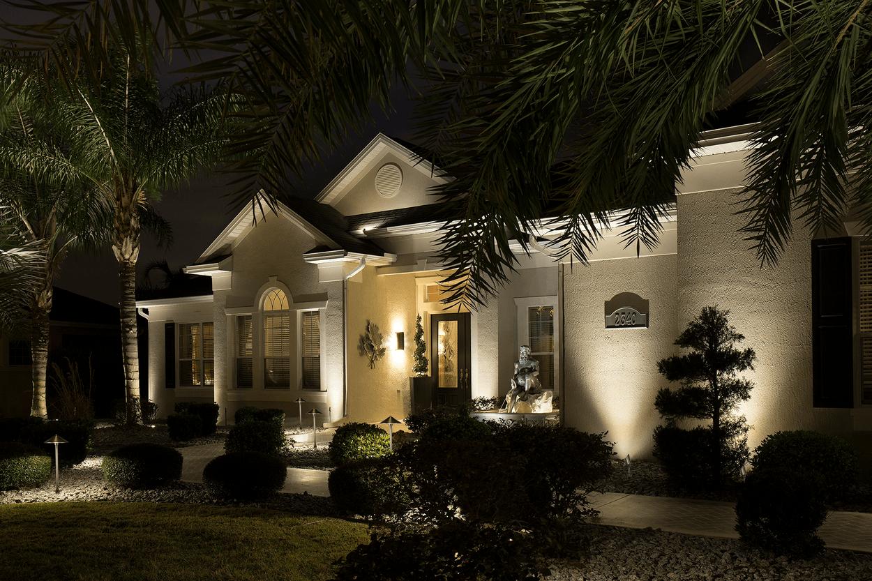 outdoor landscape lighting 4 pk led low