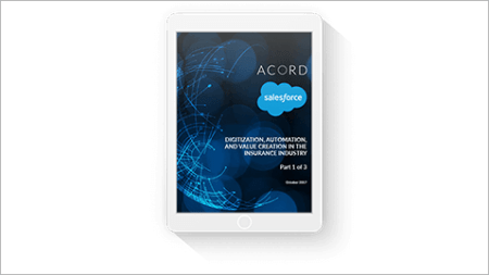 ACORD and Salesforce Insights from the Insurance Digital Maturity     Create your own branded mobile app     and build brand loyalty     with  mySalesforce