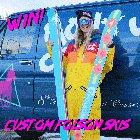 Win custom Folsom x Montucky Cold Snacks Skis (01/15/20) {US}