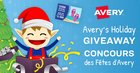 Enter to win $25 gift card and $20 worth of Avery stationery {CA} (12/24/2018)