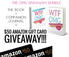 Win $50 Amazon Gift Card and a copy of WTF to OMG + Companion Journal! (12/31/18) {US CA}