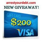 Win A $200 VISA Cash Card (06/06/2020) {WW} Confirmed by Organizer via Email