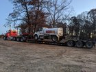 I wonder if you need a tanker endorsement to haul a tanker truck.... (I have my tanker and haz for our fuel truck)
