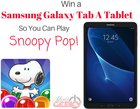 Win a Samsung Galaxy Tab A Tablet (07/27/2017) {US CA}