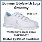Summer Style with Lugz Giveaway - Pea of Sweetness $59 value This giveaway runs through 07/03/2016 at 11:59pm PDT {US}