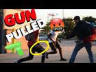 Clown In The Hood Prank *Gone Wrong* - Gun Gets Pulled Out