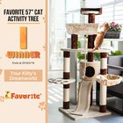"""Share & Win Favorite 57"""" Cat Activity Tree My Favorite Pet Shop #Favorite #Giveaway{US}(Ends at Feb 18)"""