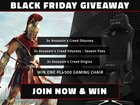Enter for a chance to win a VERTAGEAR Gaming Chair OR 1 of 3 copies of Assassin's Creed Odyssey OR 1 of 3 copies of Assassin's Creed Odyssey Season Pass OR 1 of 3 copies of Assassin's Creed Origins. 10 Winners! (11/25/2018) {WW}