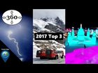 Travel Clips 360 - The best of 2017! (360° VR 4K)