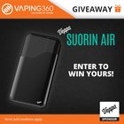 Win 3 x Suorin Air Vaporizer Kit Giveaway (07/20/2017) {WW}