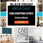 Select Blinds Black Friday $500 Shopping Spree! {US} (11/20/18)