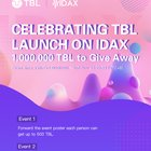 Join fast big event on Idax