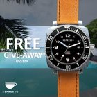 Win a US$229 Espresso Watches DESCEND diver watch
