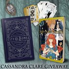 Mortal Instruments graphic novel + tarot set + necklace + City of Bones {ww} {11/27/2017}