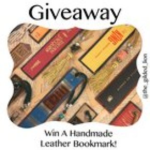 Win A Handmade Leather Bookmark - Instagram - Ends 9/1