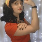 [self] I did a 50's inspired Wonder Woman cosplay and for Patreon did a shibari version!