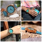 Handcrafted Wooden Watch With Engraving {US UK EU} 11/2