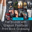 Enter for a chance to win 11 Urban Fantasy Print Books. {WW} (03/04/2018)