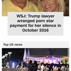 No proof. No evidence. Trump denies. Lawyer denies. EVEN THE PORN STAR DENIES. CNN: Run it. Put it on the front page.