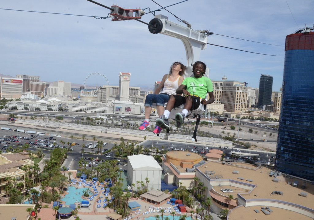 Las Vegas Thrill Ride Offers New Zip Line Experience Explore By Expedia