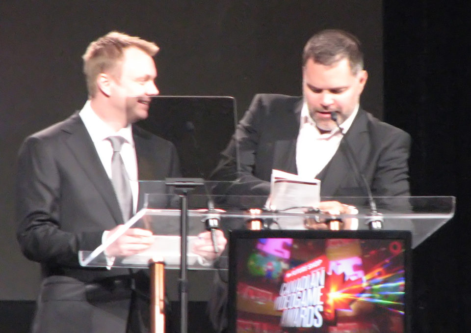 Presenting the Best Console Game Award