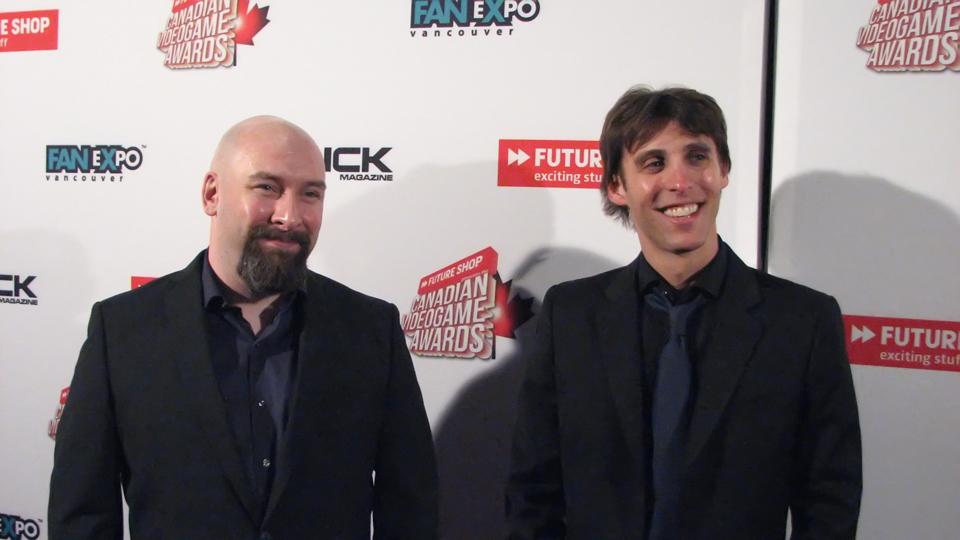 Eric Holmes and Reid Schneider