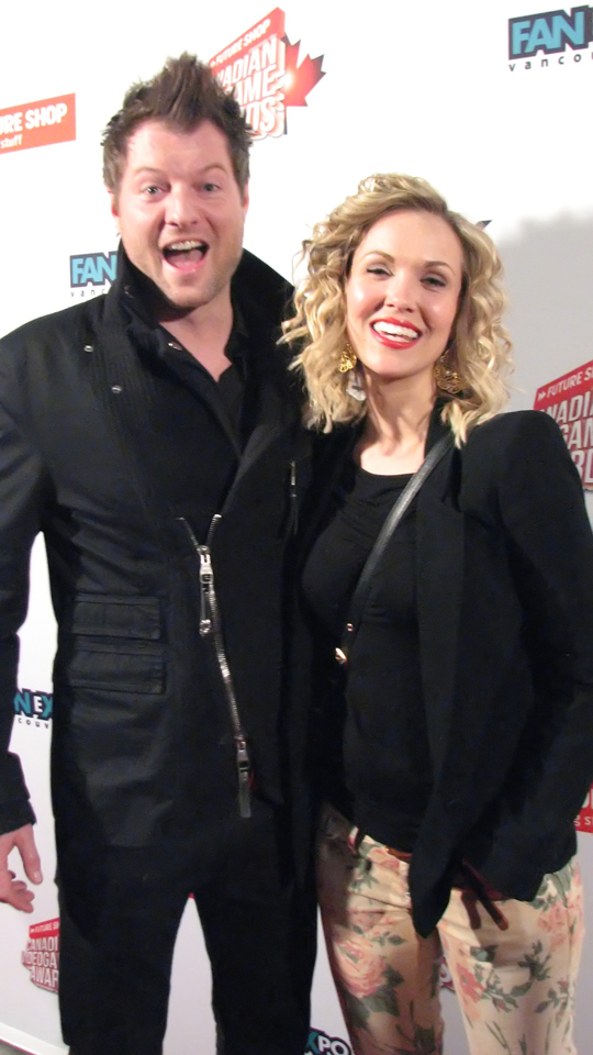 Kyle Cassie and Emilie Ullerup