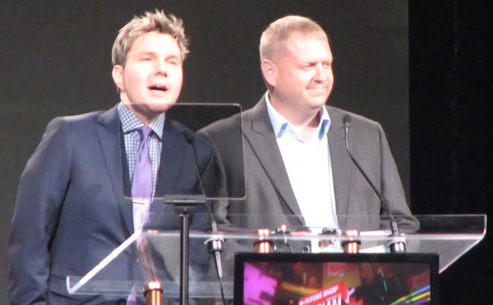 Presenting the Gamer\'s Choice Award
