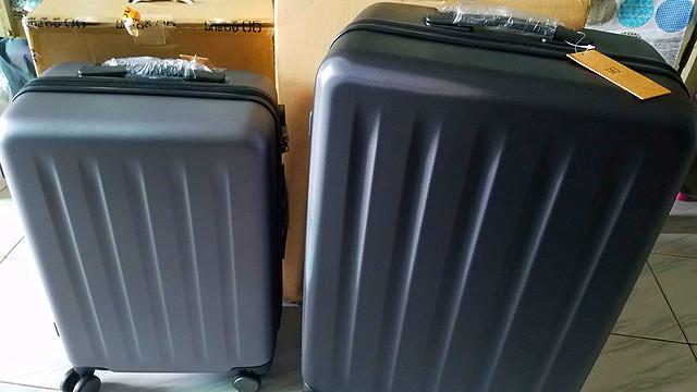 有何不同?小米 90分 PC旅行拉桿箱20寸/24寸對比開箱_拉桿箱_什么值得買