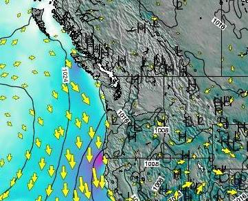 HD Decor Images » Oregon Surface Wind on Thursday 23 Aug at 5pm PDT Oregon Surface Wind on Thursday 23 Aug at 5pm PDT map