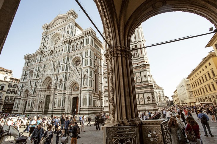 Florence Duomo cathedral in Europe
