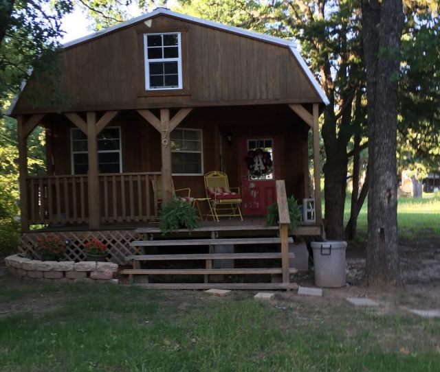 Cozy Cabin With Great Lake Views Mexia House