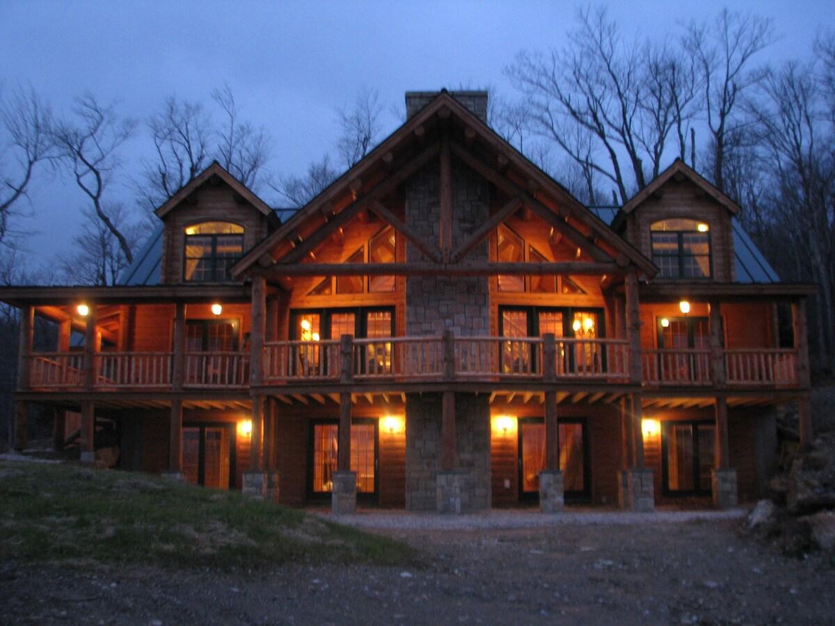Killington Vermont Traditional Log Home Houses For Rent In Killington Vermont United States