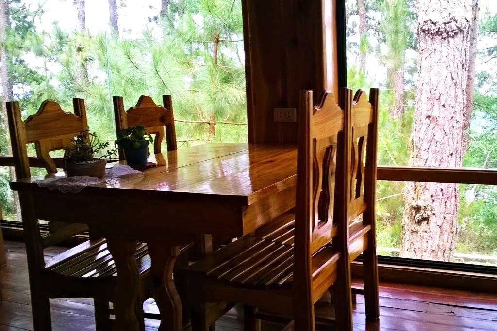 More of the main cabin dining