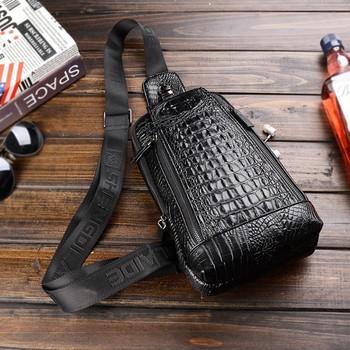 """Современная стильная мужская сумка - """"Alligator"""""""