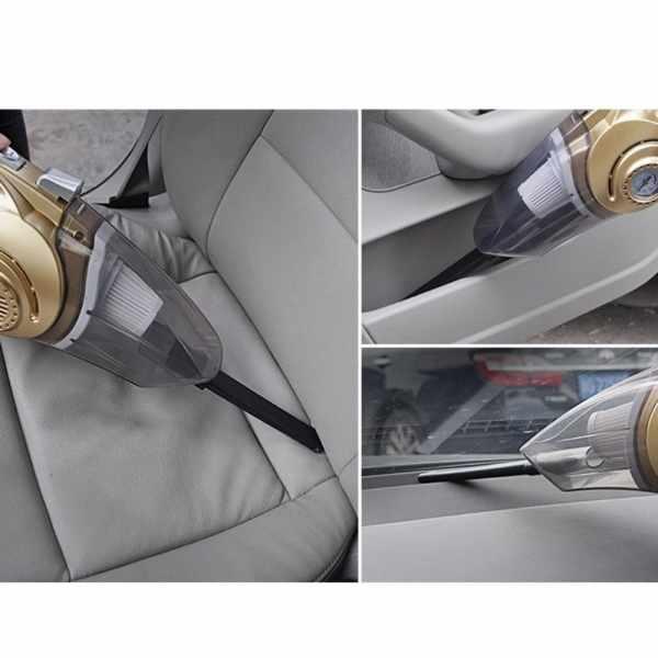 Портативный авто пылесос 4 в 1 Car Vacuum Cleaner