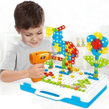 Детский развивающий конструктор Creative Mosaic