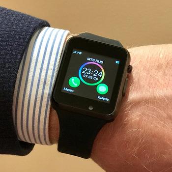 Умные часы нового поколения - SMARTWATCH A1