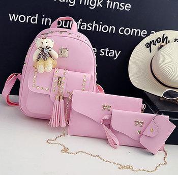 Удобные и вместительные женские сумочки 4 в 1