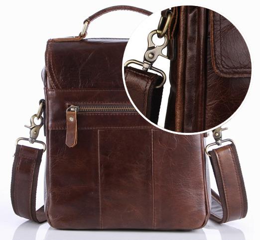 Новые стильные мужские кожаные сумки - CANADA